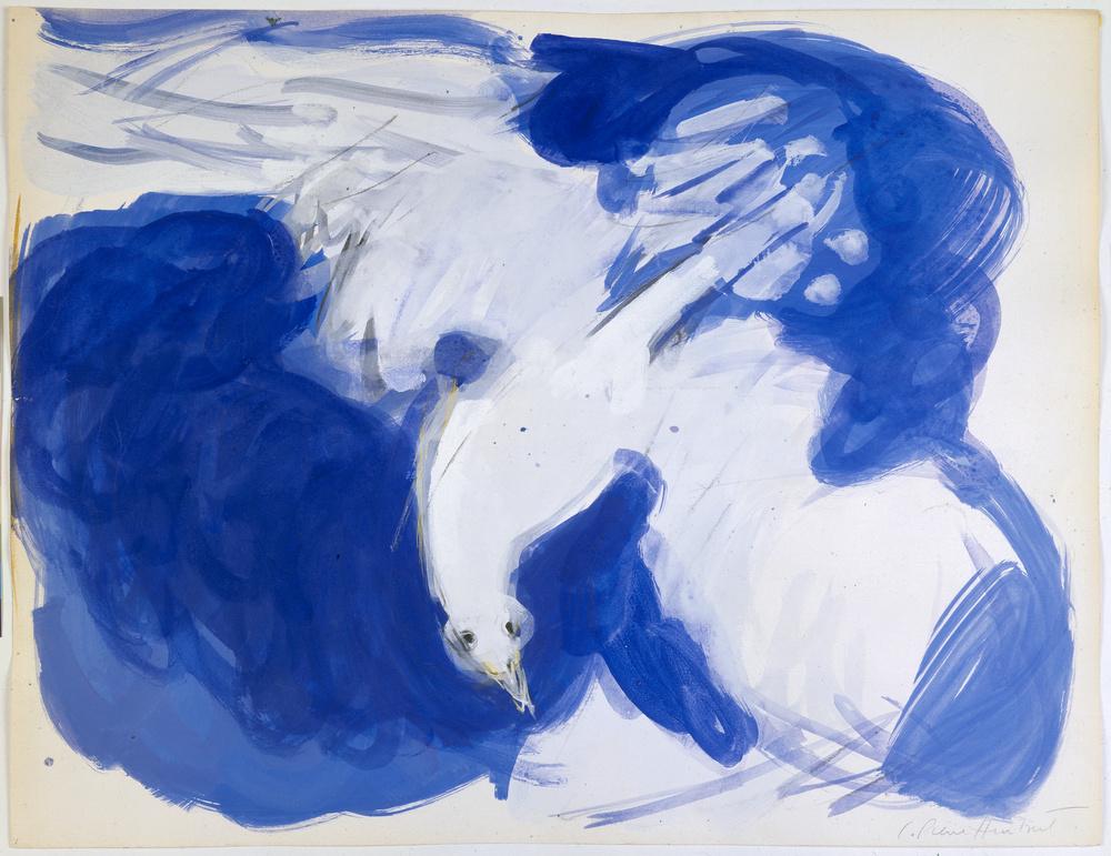 Oiseau plongeur | Charles PIERRE-HUMBERT .1920, Le Locle (Suisse) - 1992, Nîmes (Gard, France)