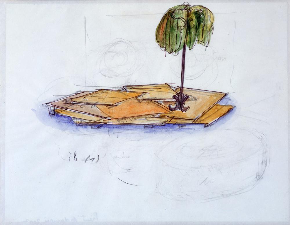 Île | Pierre ARDOUVIN .1955, Crest (Drôme, France)