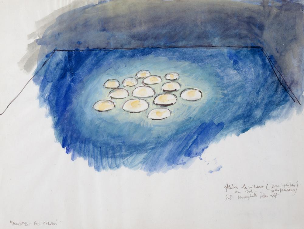 Dessin de projet Holidays | Pierre ARDOUVIN .1955, Crest (Drôme, France)
