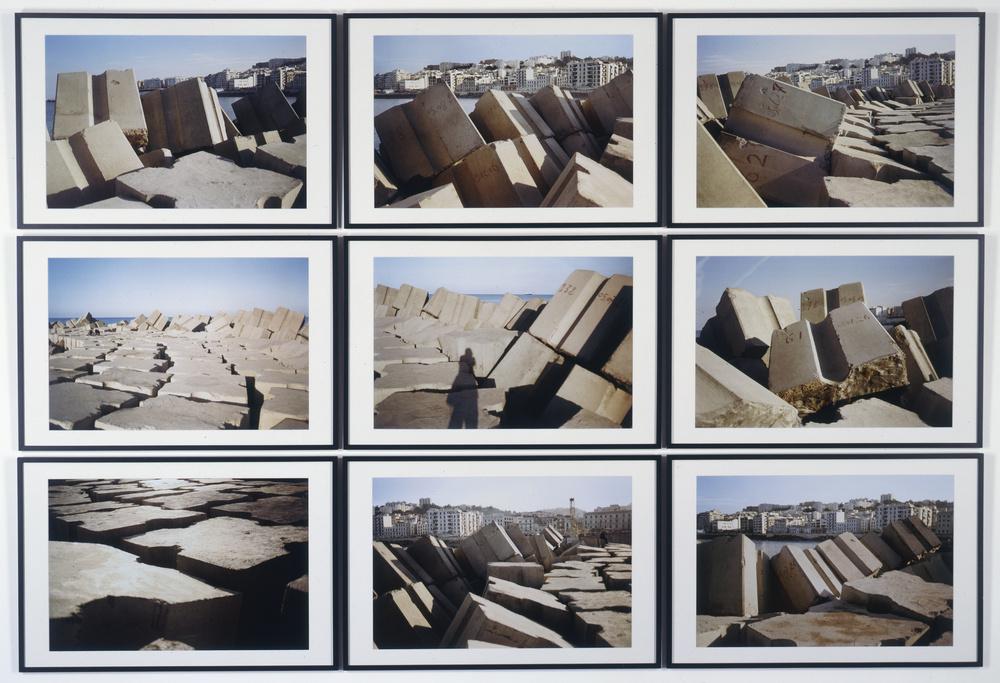Rochers carrés | Kader ATTIA .1970, Dugny (Seine-Saint-Denis, France)